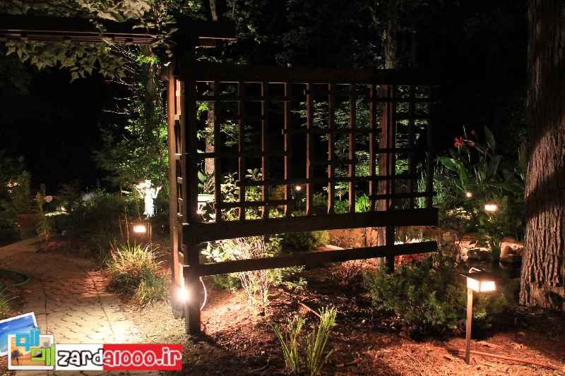طراحی باغچه در حیاط