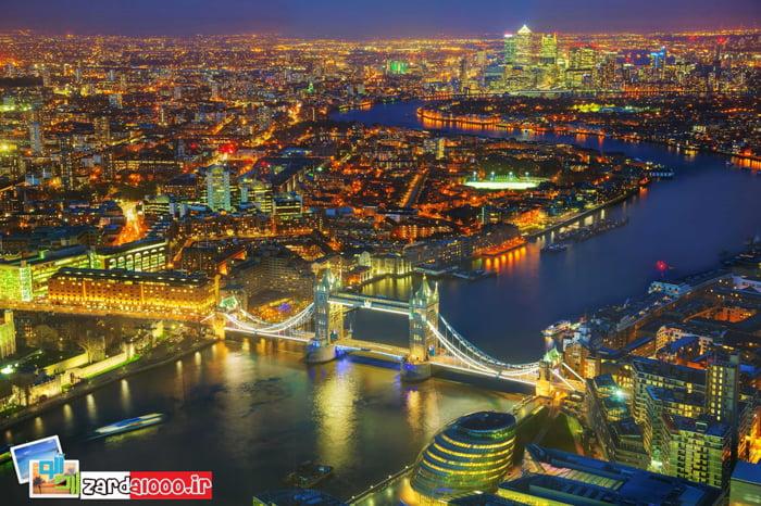 جاذبه های توریستی لندن