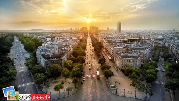پاریس مناطق دیدنی