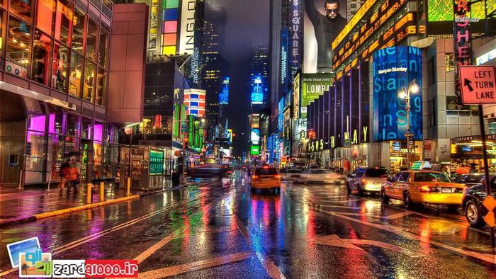 شهر نیویورک مناطق دیدنی