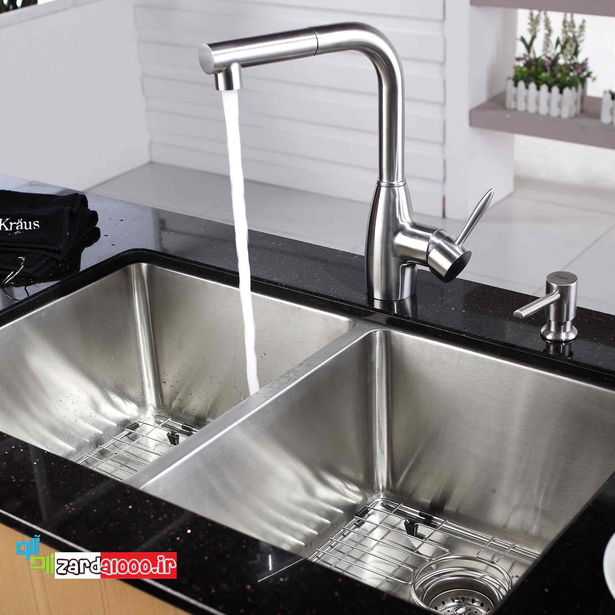 سینک ظرفشویی استیل - سینک ظرفشویی ارزان - جدیدترین سینکهای ظرفشویی