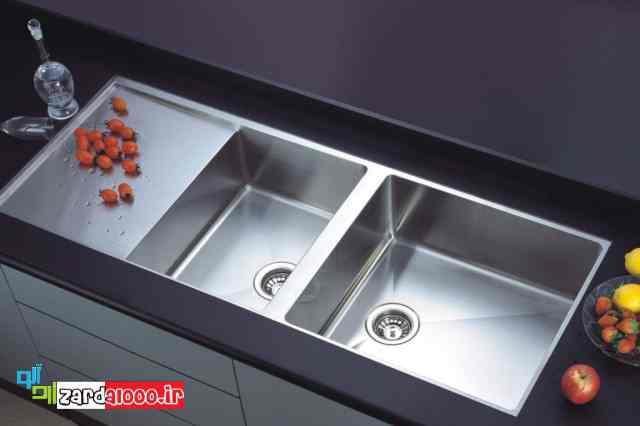 قیمت شیر سینک ظرفشویی - سینک توکار بهتره یا روکار - فروش سینک ظرفشویی ارزان قیمت