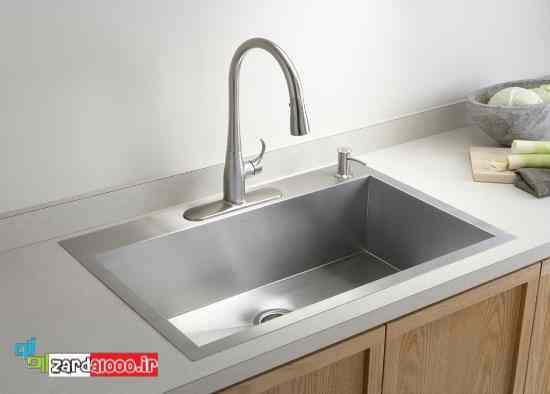 سینک ظرفشویی جدید - سینک ظرفشویی شیک - سینک ظرفشویی مد روز
