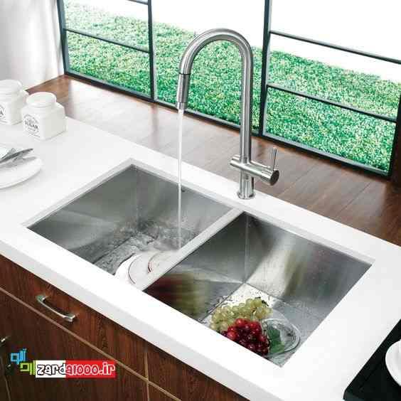 خرید سینک ظرفشویی - بهترین سینک ظرفشویی - انواع سینک