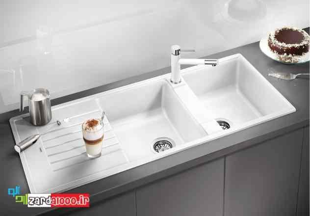 سینک ظرفشویی گرانیتی - سینک ظرفشویی سرامیکی - فروش سینک ظرفشویی