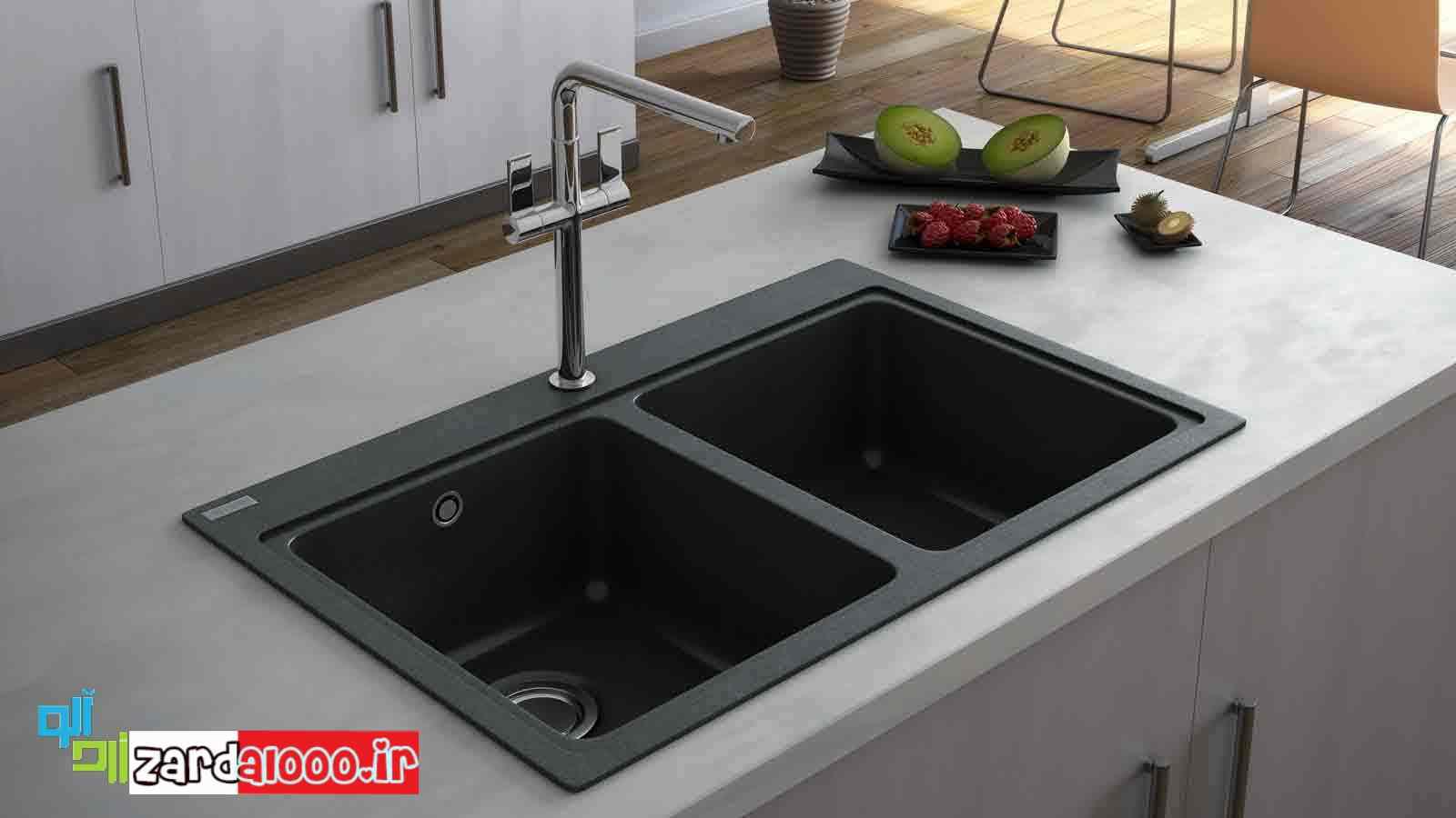 انواع سینکهای ظرفشویی - فروش سینک - خرید اینترنتی سینک ظرفشویی