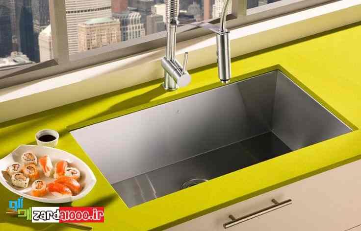 قیمت سینک ظرفشویی - سینک آشپزخانه خارجی - فروش سینک ظرفشویی سنگی