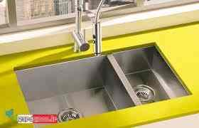 سینک ظرفشویی توکار - مدل جدید سینک ظرفشویی - بهترین سینک ظرفشویی خارجی