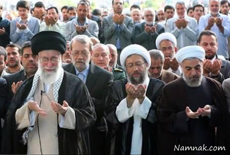 شخصیت هایی که در نماز عید فطر تهران حضور داشتند