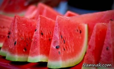 خوردن آب هندوانه و عسل