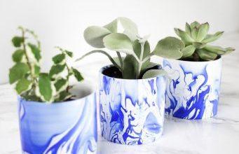 Photo of ساخت گلدان زیبا رو میزی