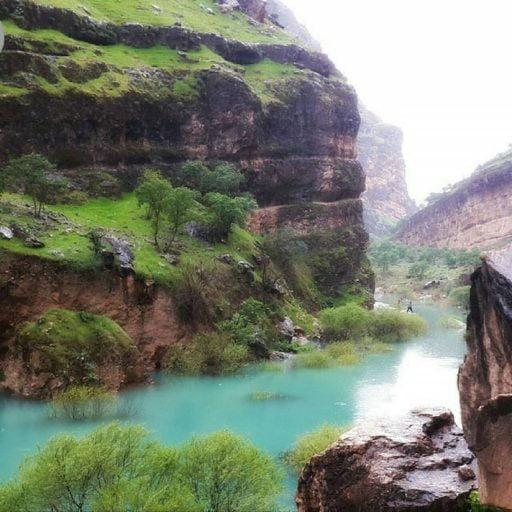 یکی از زیبا ترین مناطق جهان در ایران