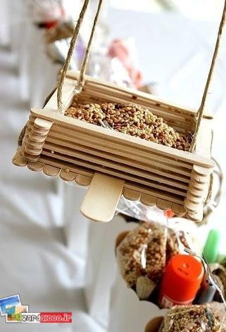 کاردستی های ساده با چوب بستنی