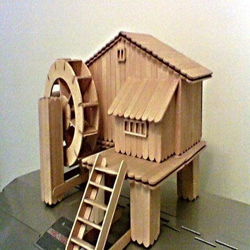 ساخت وسایل تزیینی با چوب بستنی ایده های جالب و کاربردی