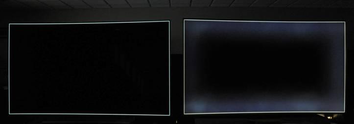 کنتراست تلویزیون oled در مقابل LCD