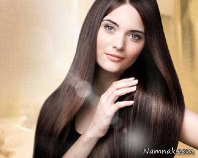 موهای خشک را به راحتی لخت و نرم کنید