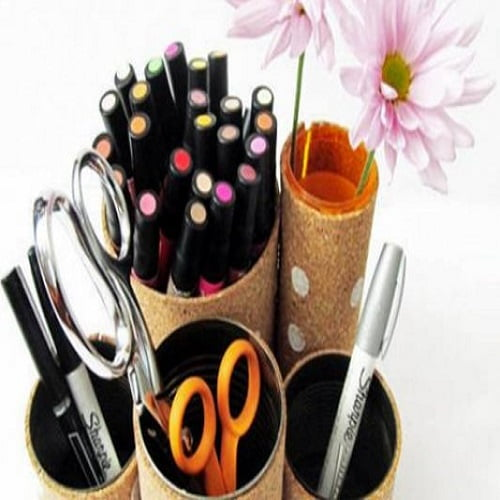 کاردستی با مواد بازیافتی و دور ریختنی با ایده های خلاقانه
