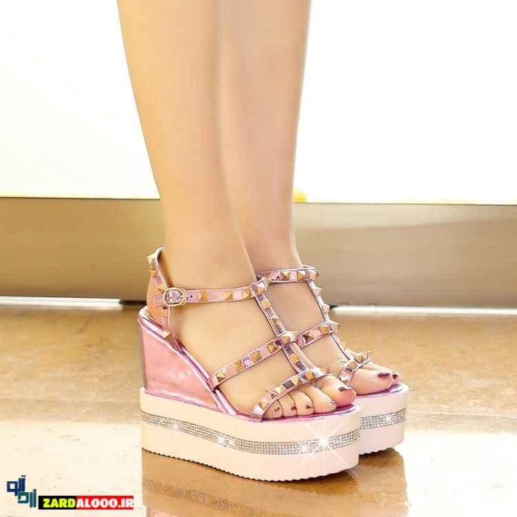 مدل کفش پاشنه بلند دخترانه شیک