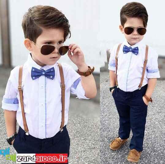 مدل لباس پسر بچه شیک