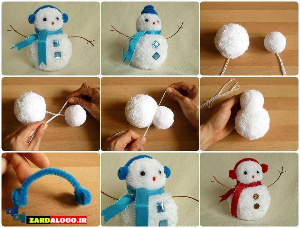 ساخت عروسک زیبا