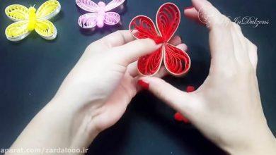 Photo of آموزش ویدئویی ساخت پروانه تزئینی