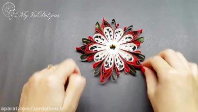 Photo of آموزش ویدئویی ساخت گل پارچه ایی تزئینی بسیار زیبا و شیک