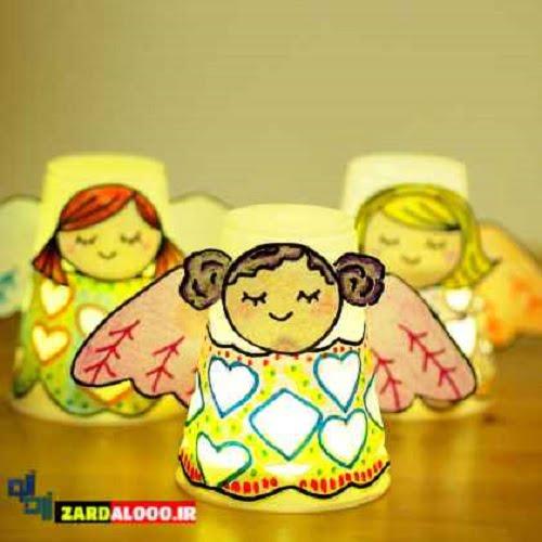 ساخت عروسک های خلاقانه و با مزه برای کودک و نوجوان