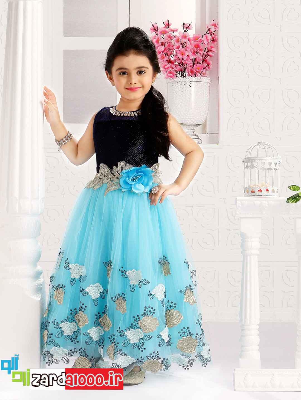 لباس مجلسی برای دختر بچه ها