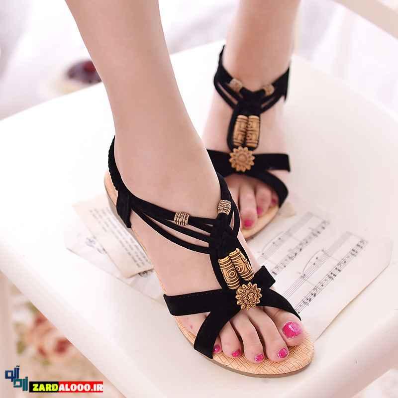 مدل کفش پاشنه کوتاه