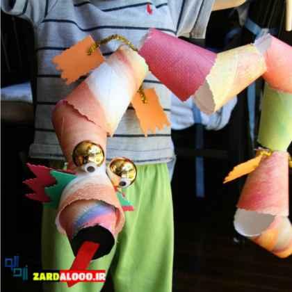 ساخت عروسک با لیوان یک بار مصرف