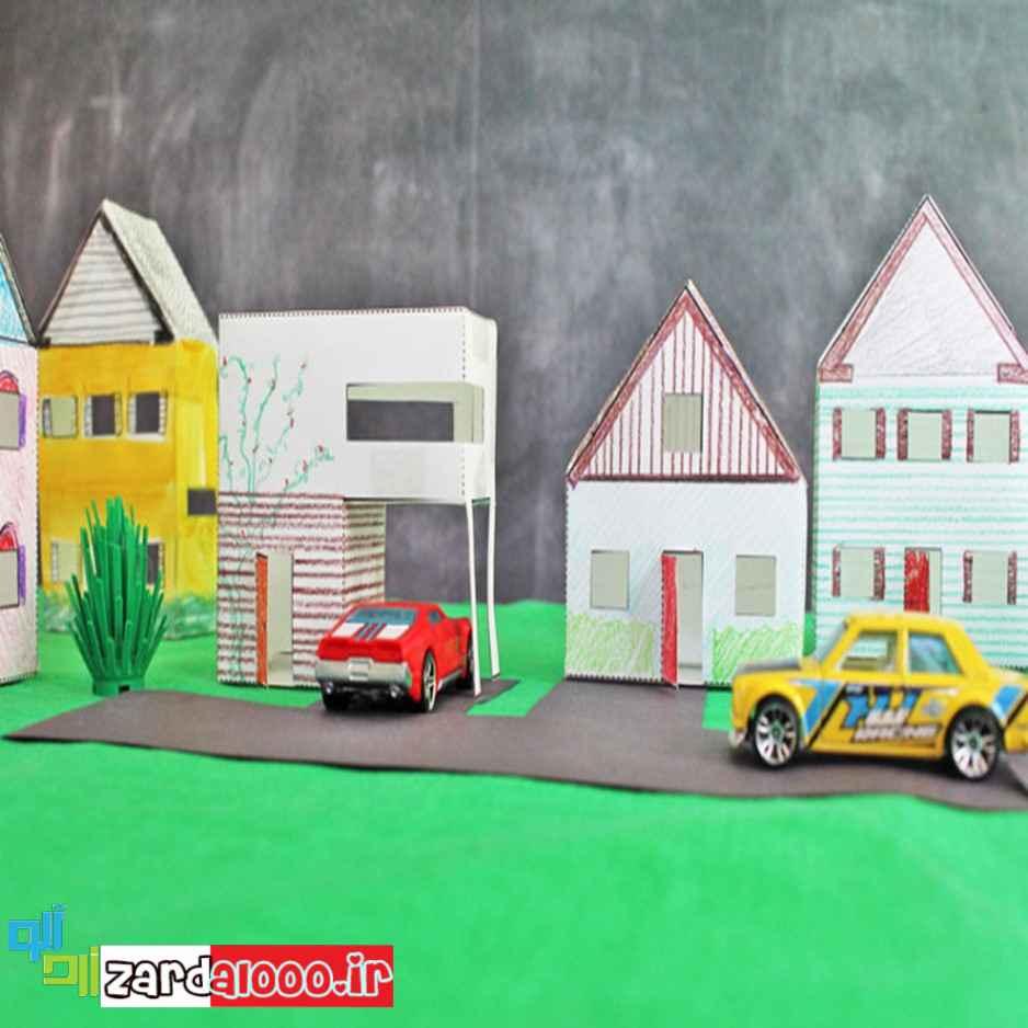 ساخت کاردستی برای بچه ها