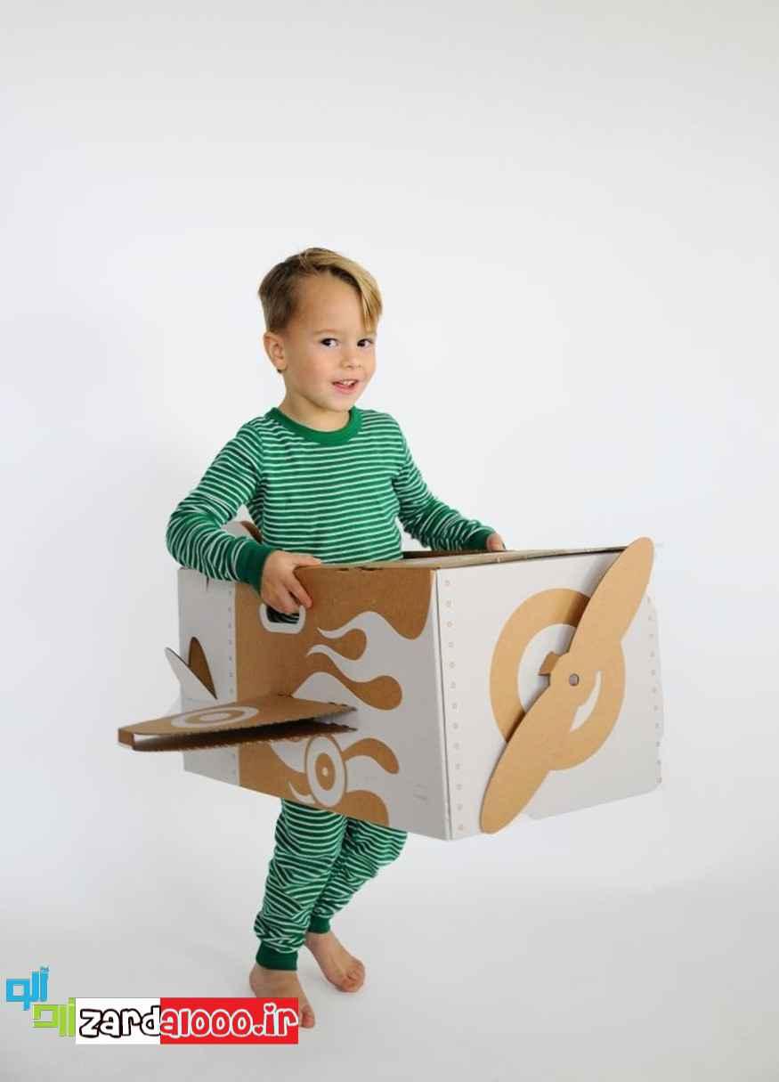ساخت کاردستی های سرگرم کننده برای کودکان
