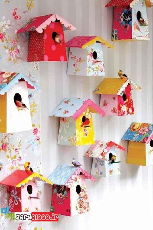 ساخت کاردستی برای تزئین اتاق کودک