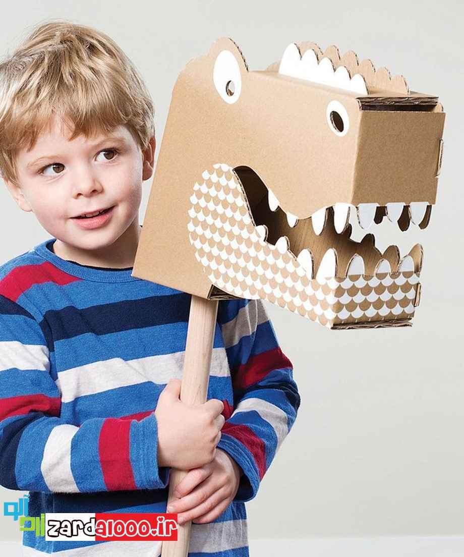 ساخت کاردستی های مورد علاقه کودک