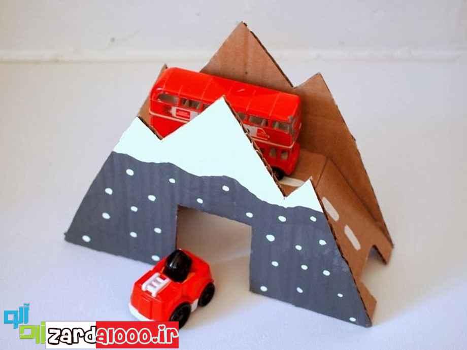 ساخت کاردستی های جالب و زیبا برای کودکان
