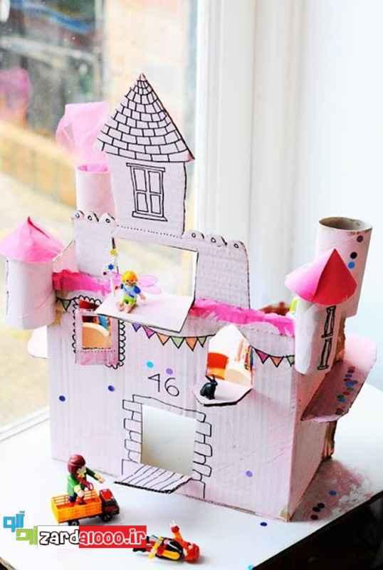 ساخت کاردستی خلاقانه برای کودکان