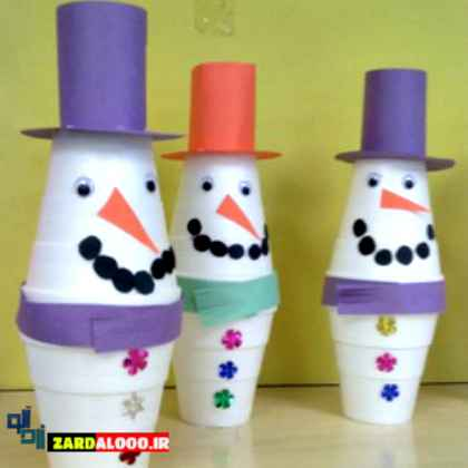 ساختن عروسک خلاقانه و جالب