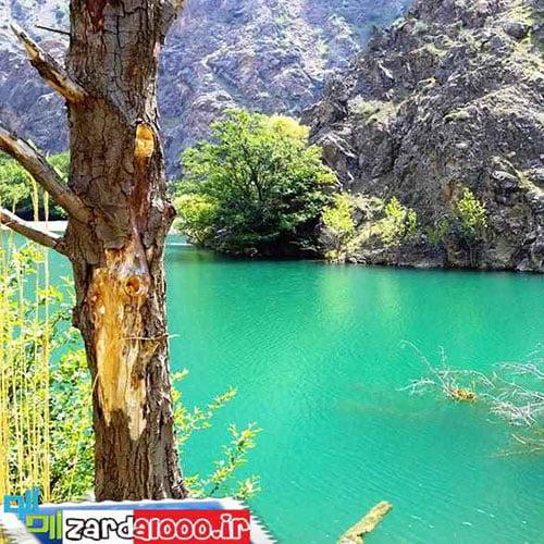 طبیعت در یاچه کردآباد آب بر از توابع شهر آبْبَر طارم