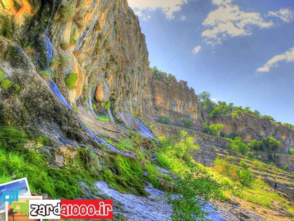 طبیعت بسیار زیبا و بکر آبدانان