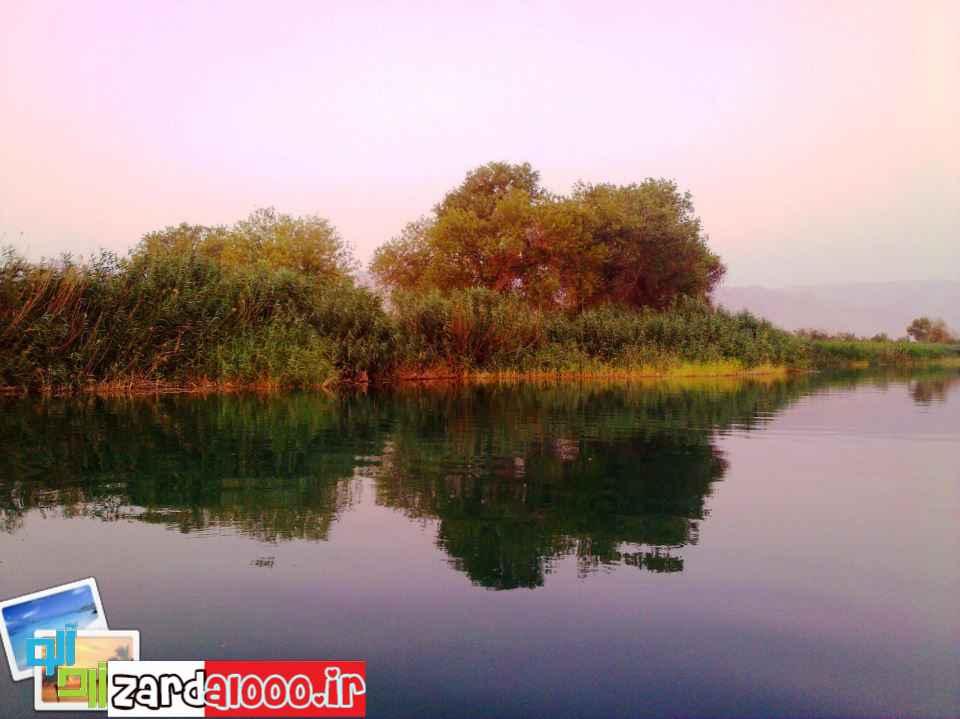 دریاچه سد شهدای بهبهان