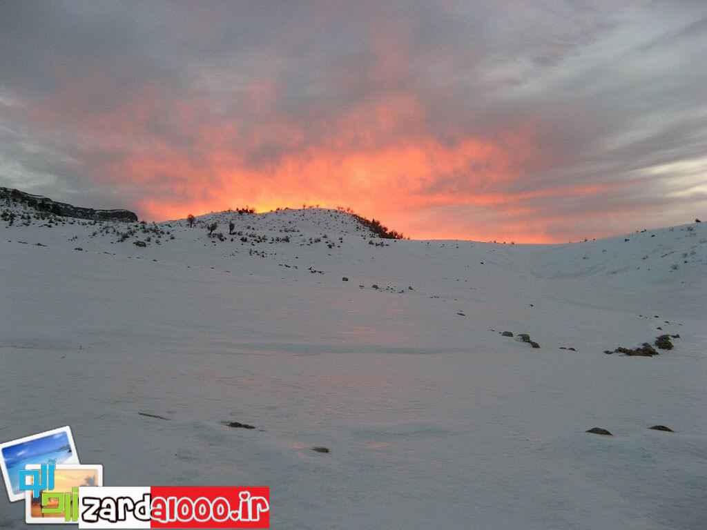 عکس کوه سفید بهبهان