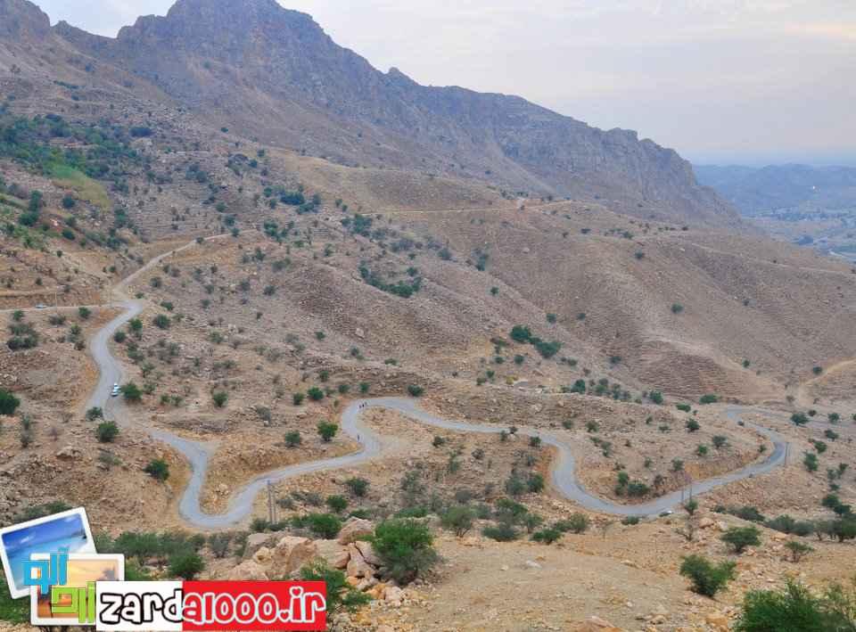 مسیر زیبای منطقهی گردشگری تنگ تکاب بهبهان