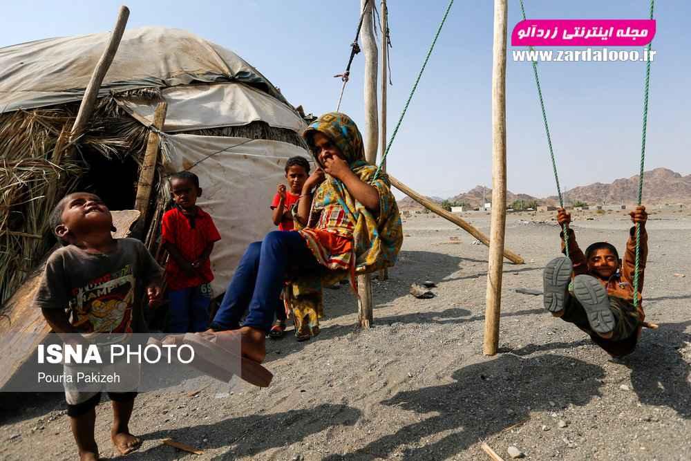 کودکان روستا «حسین آباد» که از محرومترین مناطق کشور ایران محسوب میشوند، شکل ظاهری آنها به کودکان آفریقایی شباهت زیادی دارد.