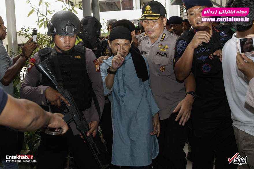 امان عبدالرحمان رهبر گروه تروریستی داعش در اندونزی که به اعدام محکوم شد