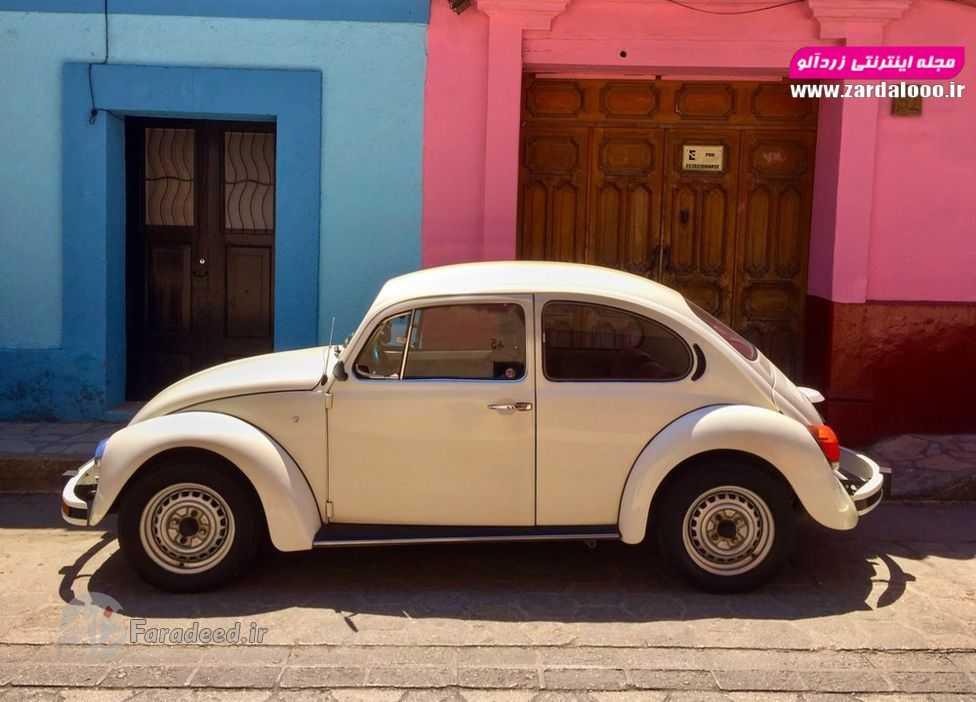 تصاویر/ عشق پایدار مکزیک به ماشینهای کلاسیک