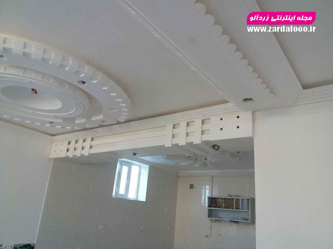 گچ کاری داخل ساختمان