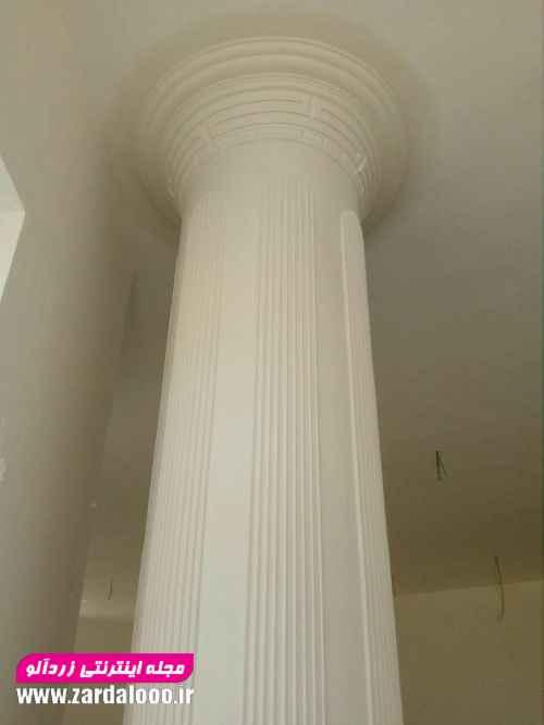 عکس جدید ستون و سر ستون گچکاری 1397 (78)