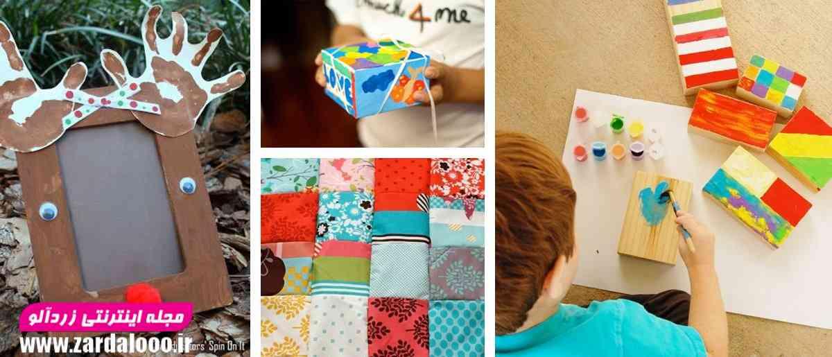 ایده کاردستی جالب برای کودک