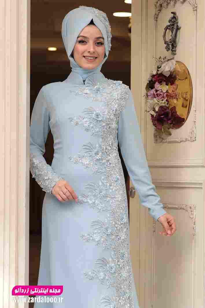 لباس مجلسی شیک و پوشیده 2019
