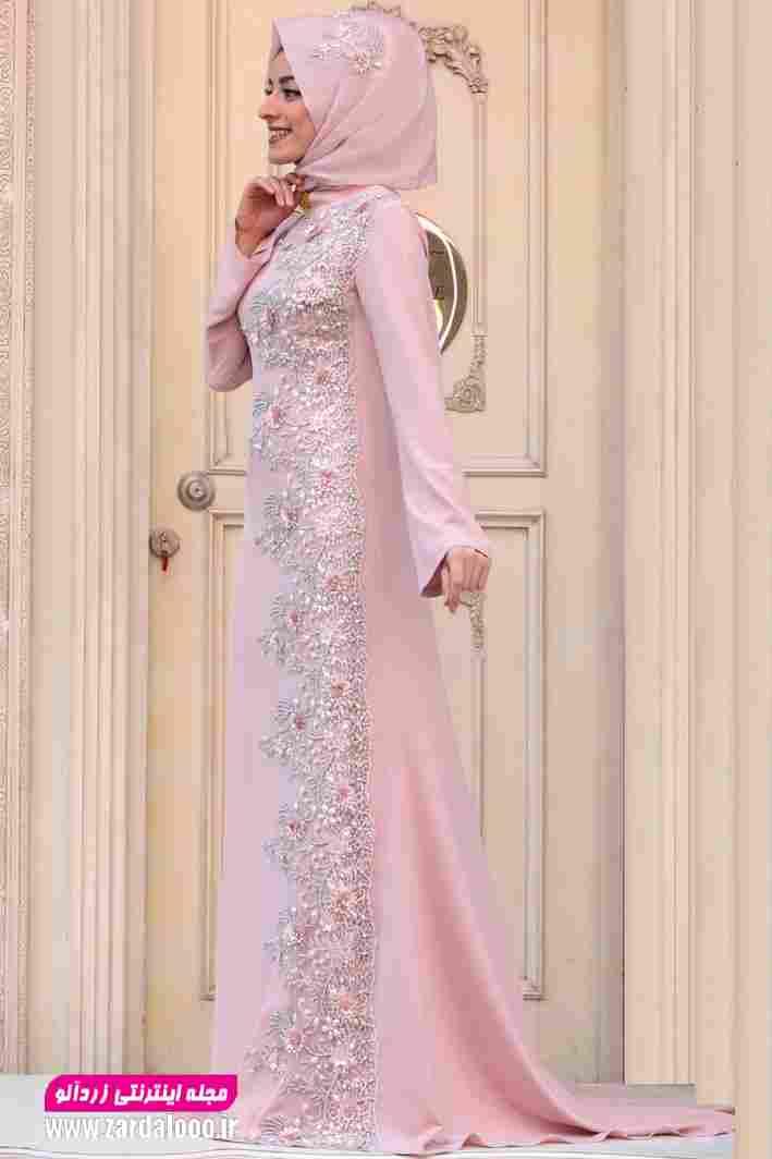 لباس مجلسی شیک بلند 2019